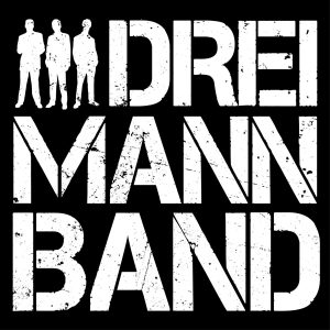 Dies ist das Logo der Dreimannband für Downloads..